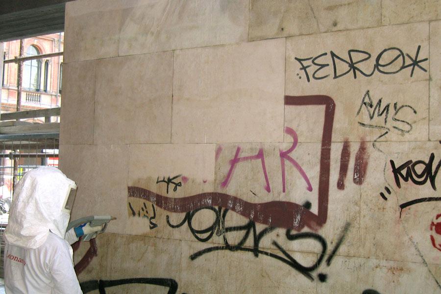 Suppression du vandalisme graphique